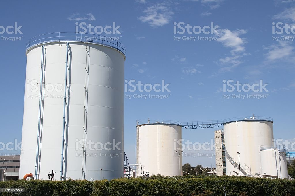 Tank Farm royalty-free stock photo