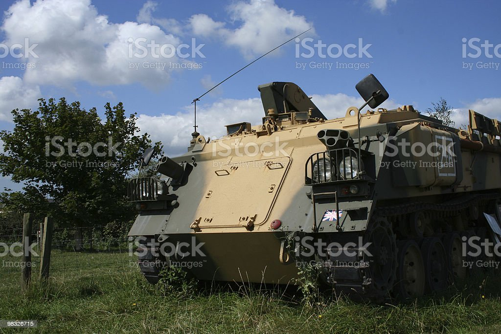 tank front view stock photo