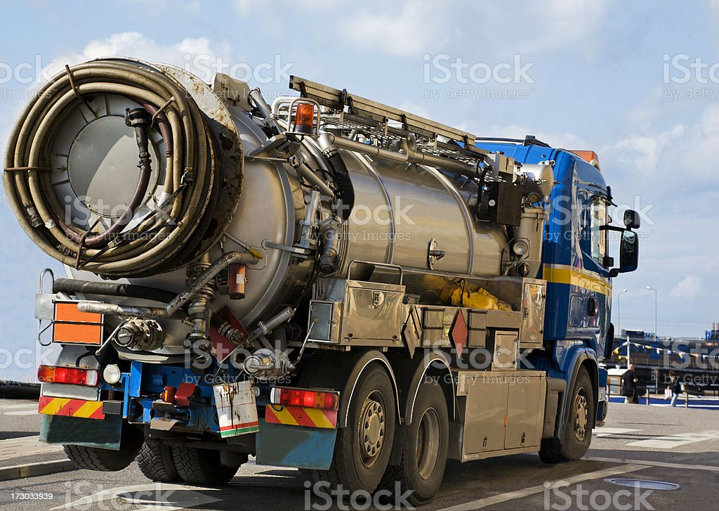 Tank lorry royalty-free stock photo