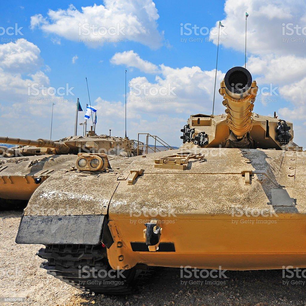Tank Merkava stock photo