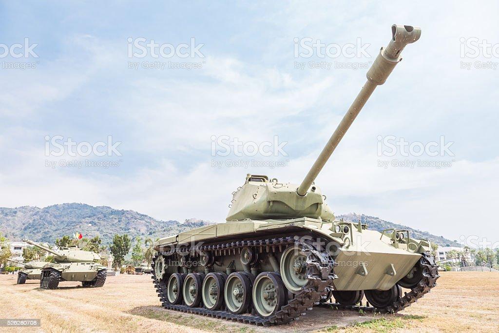 tank of war stock photo