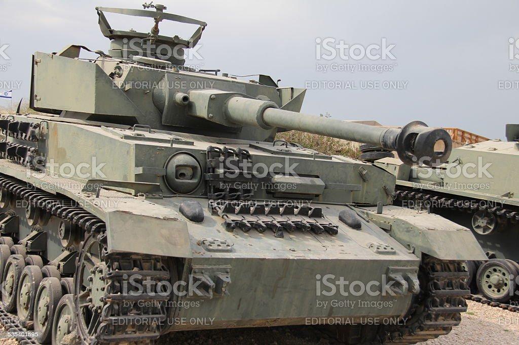 Tank PANZER PzKpfw IV ausf G ( Nazi Germany) stock photo