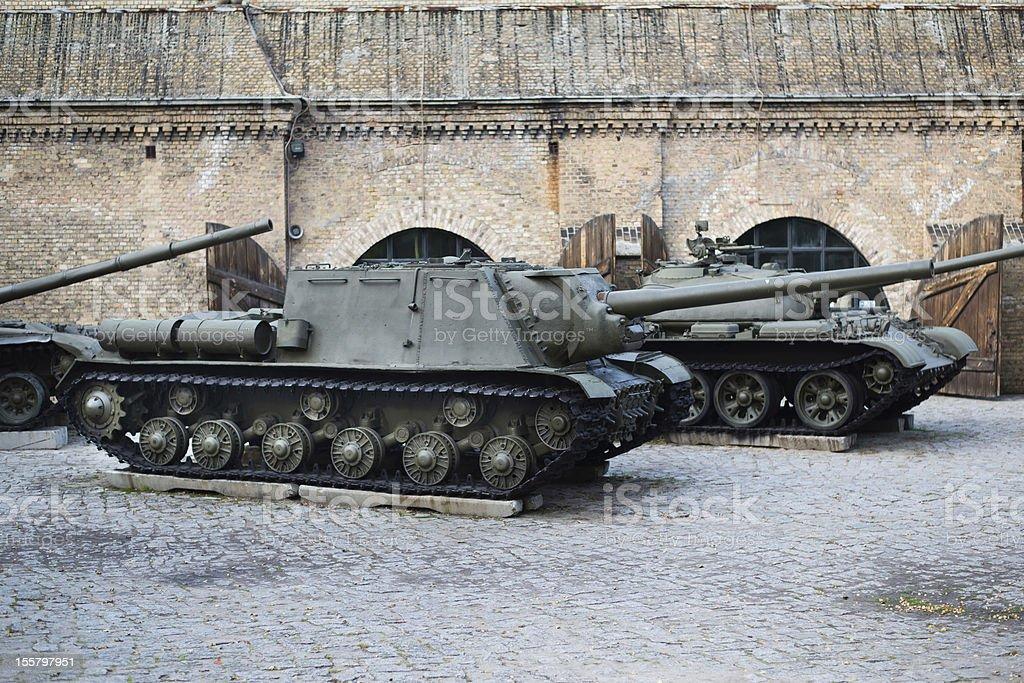 SU-152 tank royalty-free stock photo