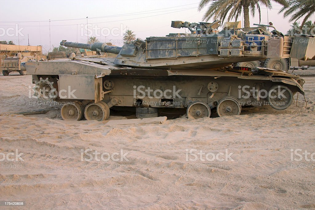 Tank royalty-free stock photo