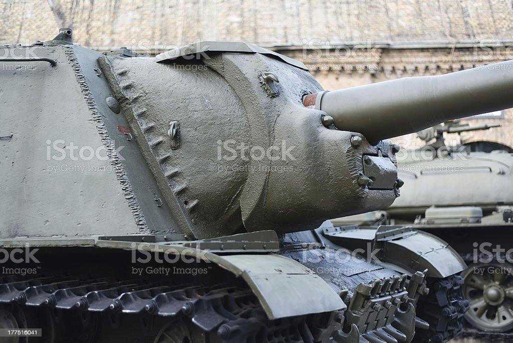 SU-85 tank royalty-free stock photo