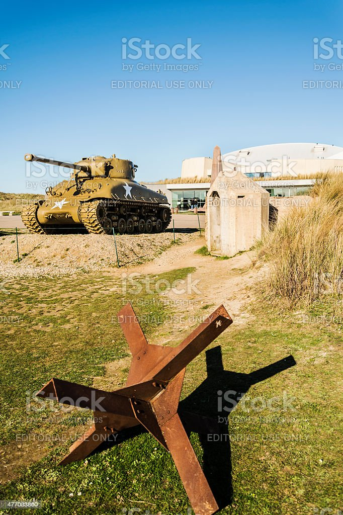 US tank stock photo