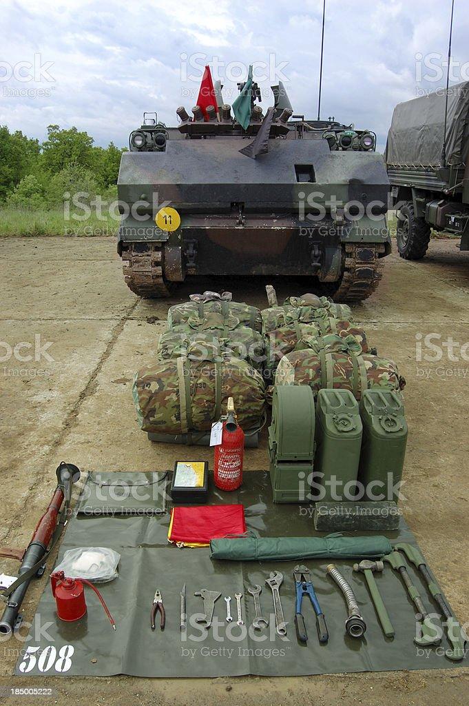 Tank Series royalty-free stock photo