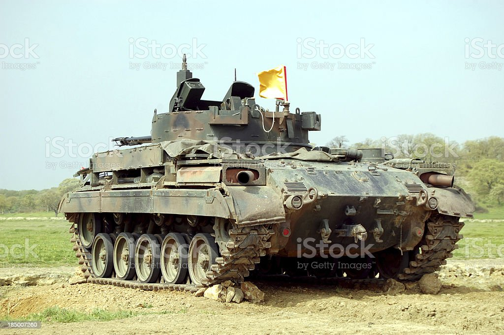 Tank Series stock photo