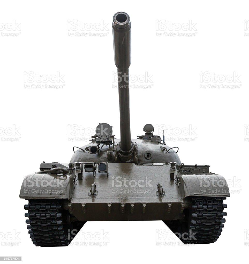 Tank T-55 stock photo