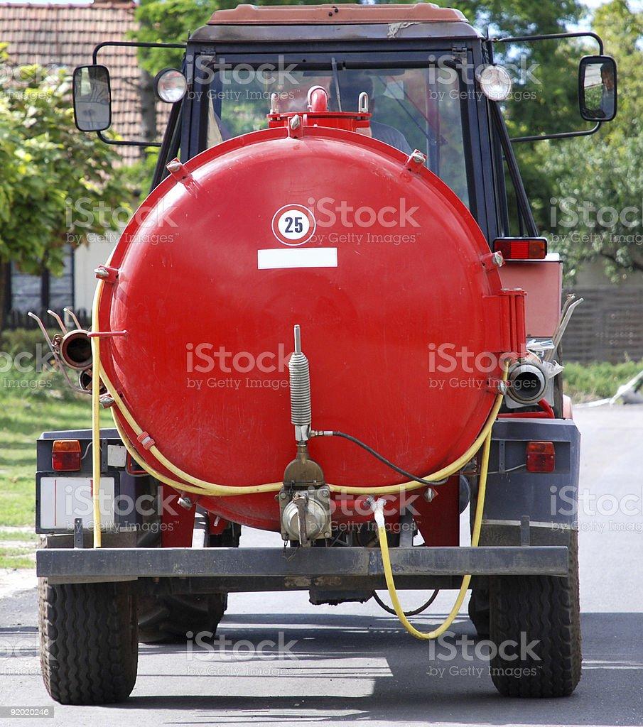 tank trailer royalty-free stock photo