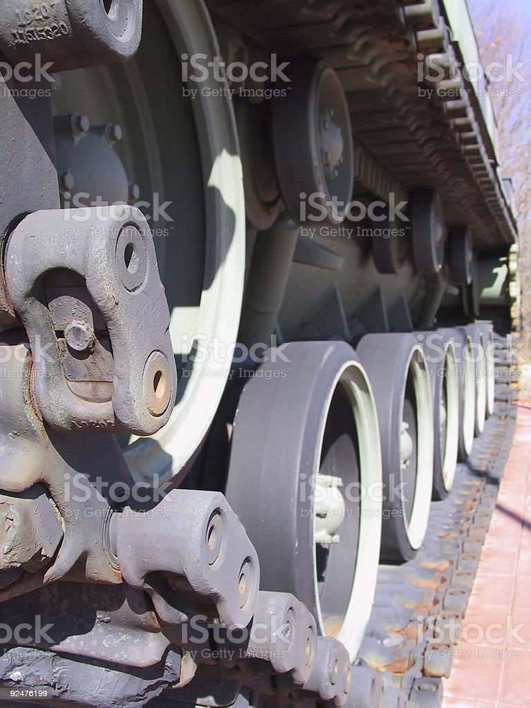 tank tread stock photo