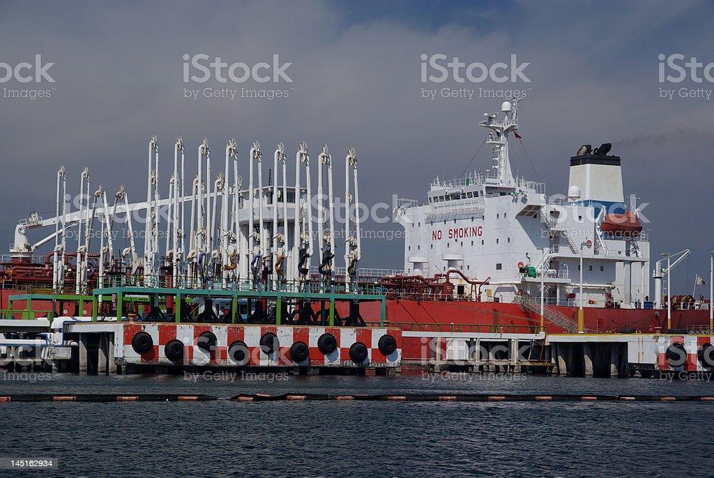 Tanker Facility stock photo