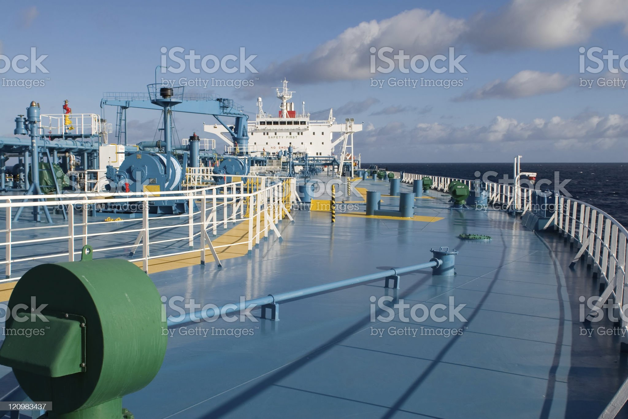 Tanker royalty-free stock photo