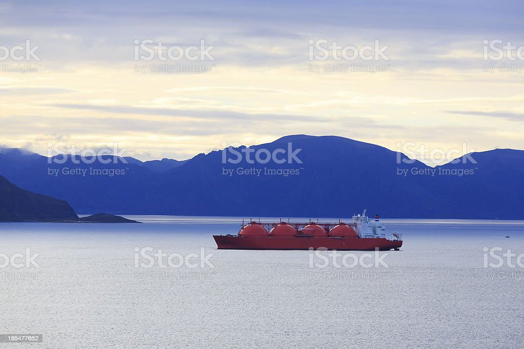 Tanker. stock photo