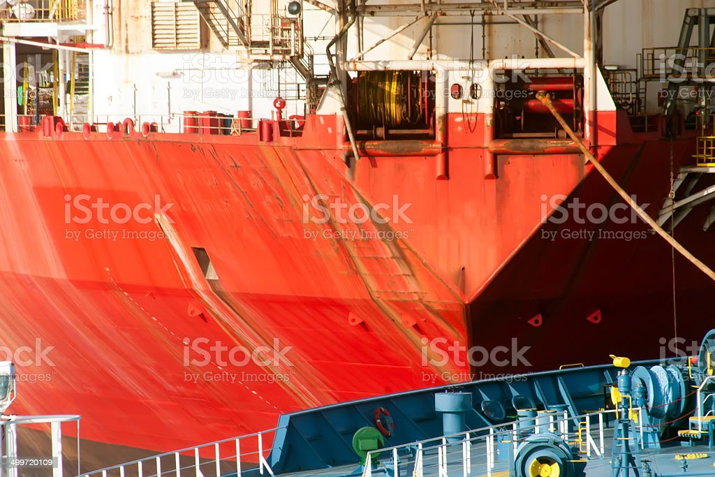 Tanker royalty-free stock photo