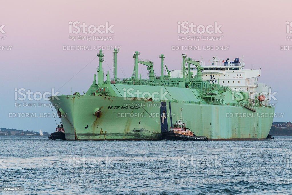 LNG Tanker stock photo