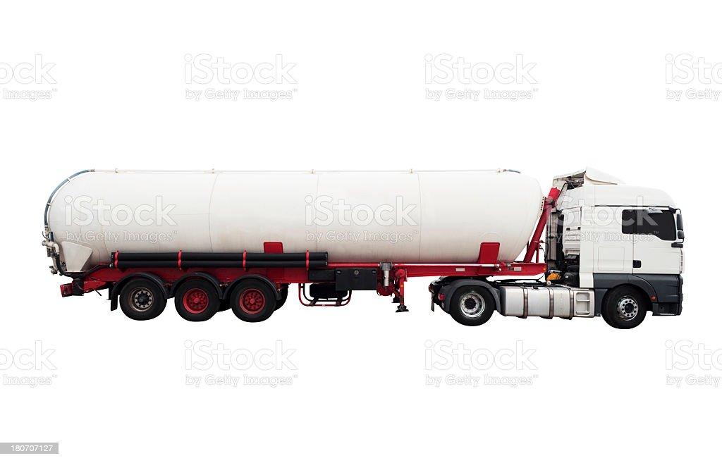 Tanker truck royalty-free stock photo