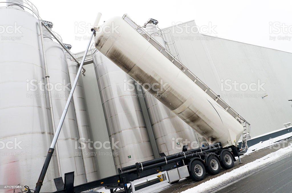 tanker truck stock photo