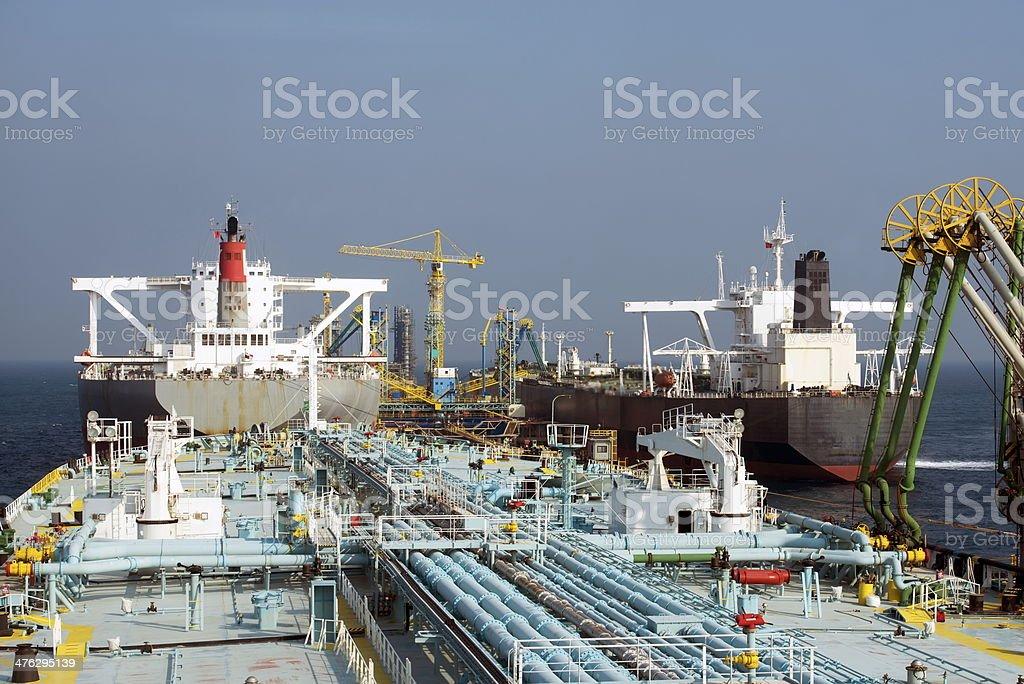 Tankers stock photo