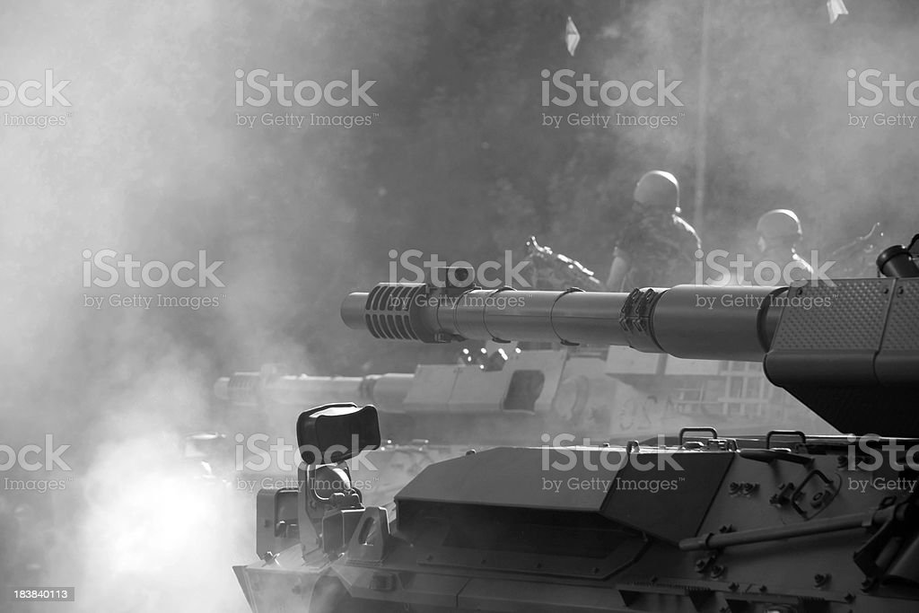tanks stock photo
