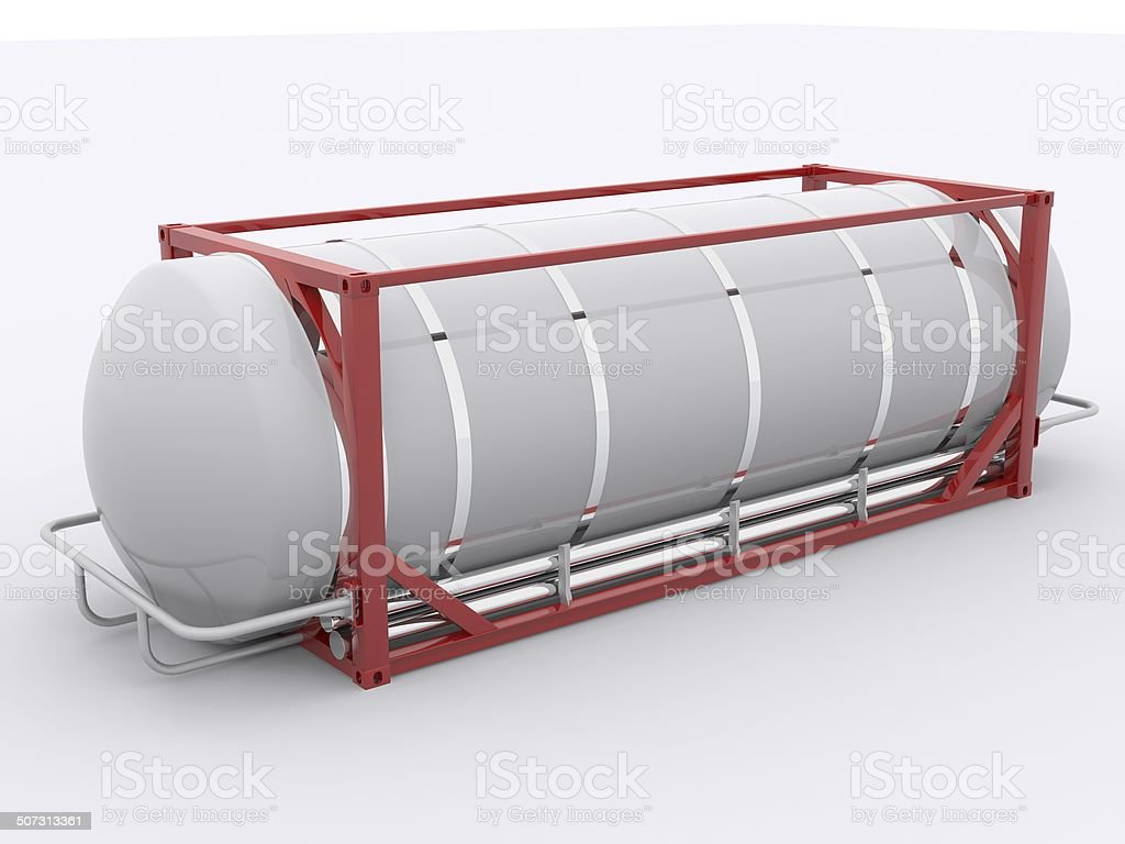 Tanktainer royalty-free stock photo