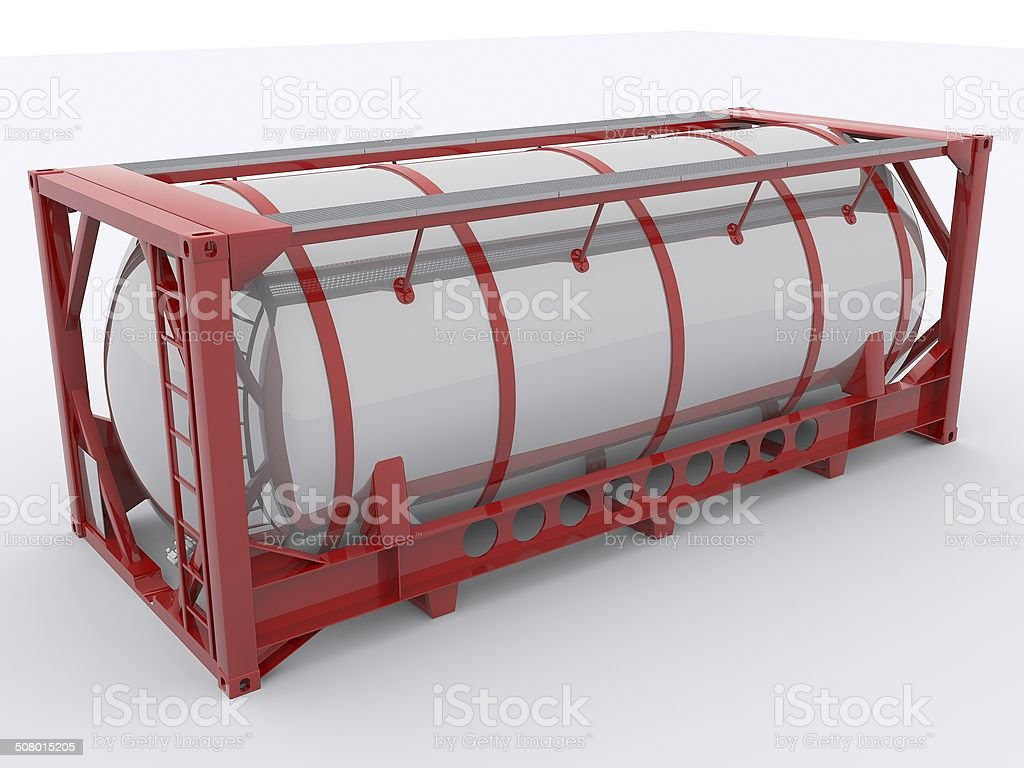Tanktainer stock photo