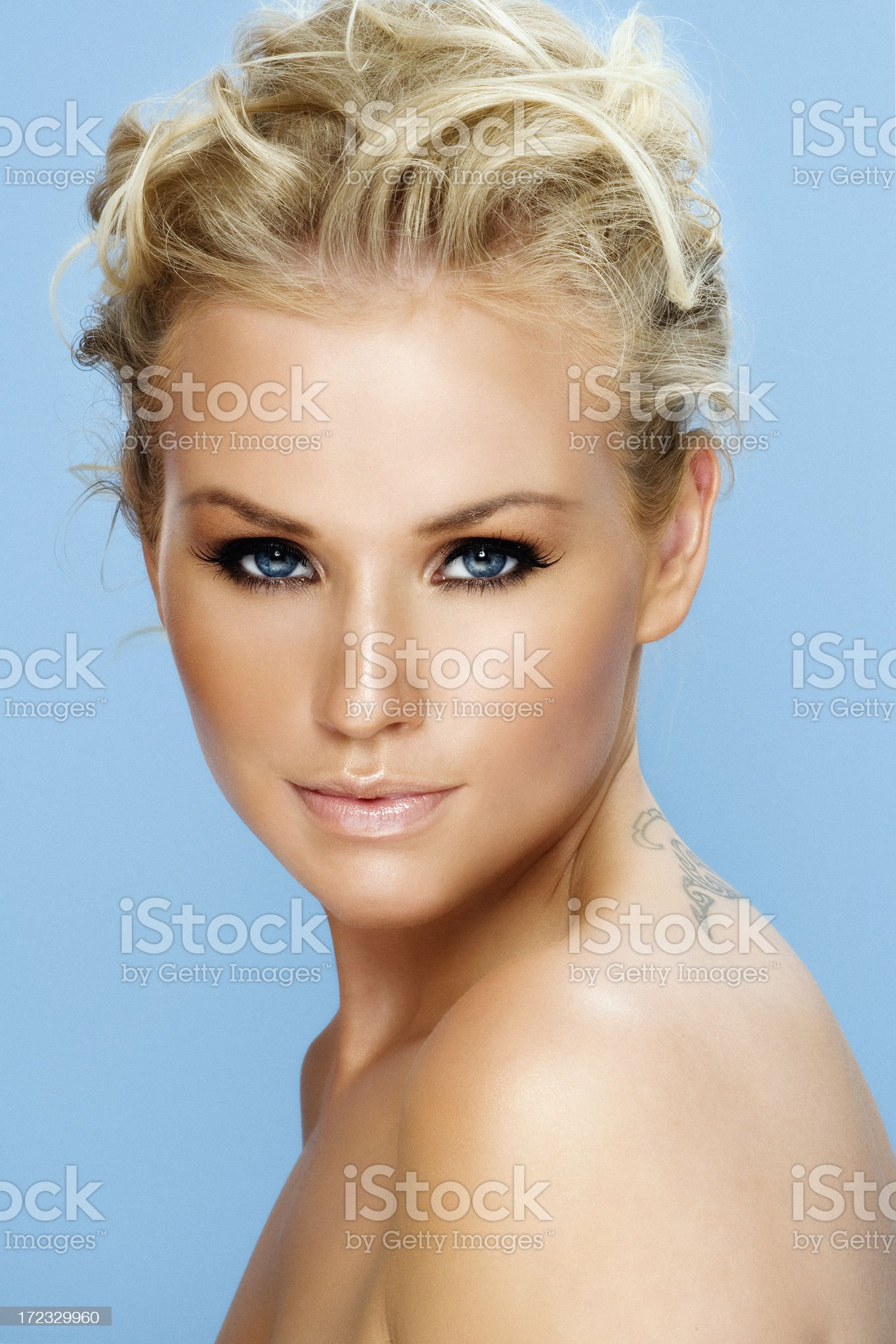 Tanned Beauty royalty-free stock photo