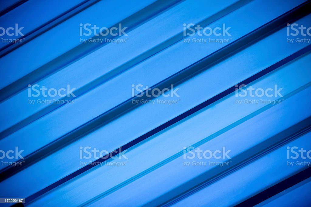 Tanning bed lights stock photo