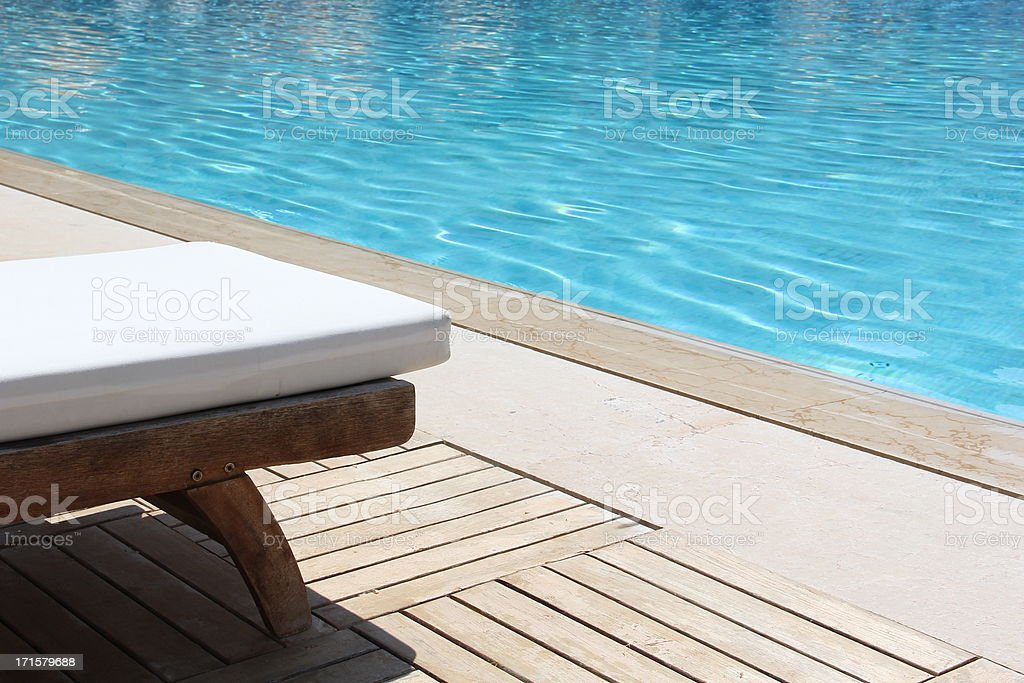 Tanning Beds in Resort stock photo