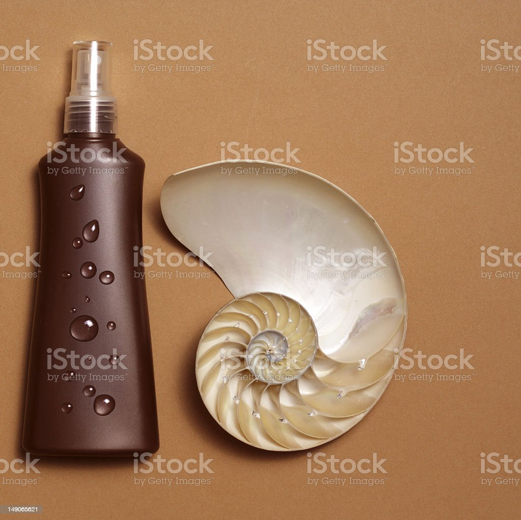 tanning lotion royalty-free stock photo