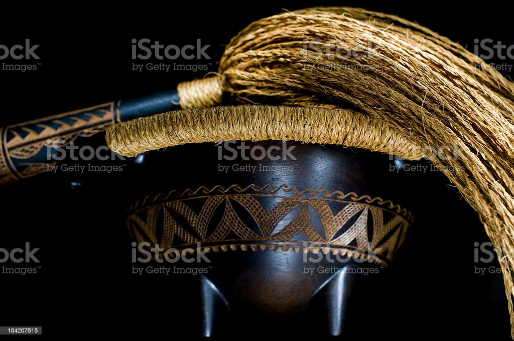 Tanoa & Fue-Front View (XLarge) royalty-free stock photo