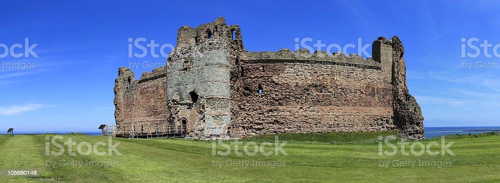 tantallon castle scotland royalty-free stock photo
