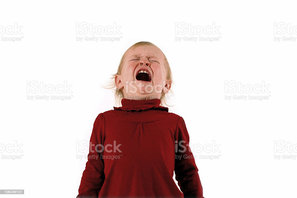 Tantrum delight stock photo