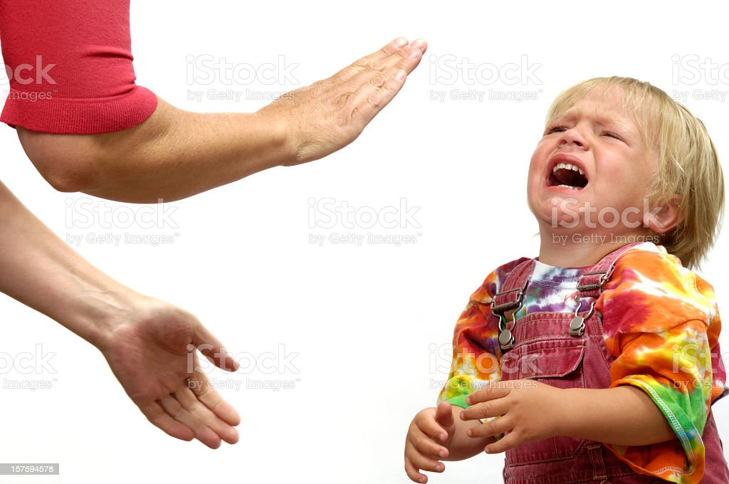 Tantrum stock photo
