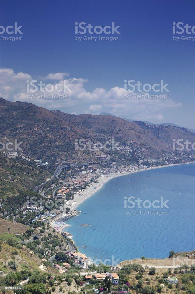 Taormina royalty-free stock photo
