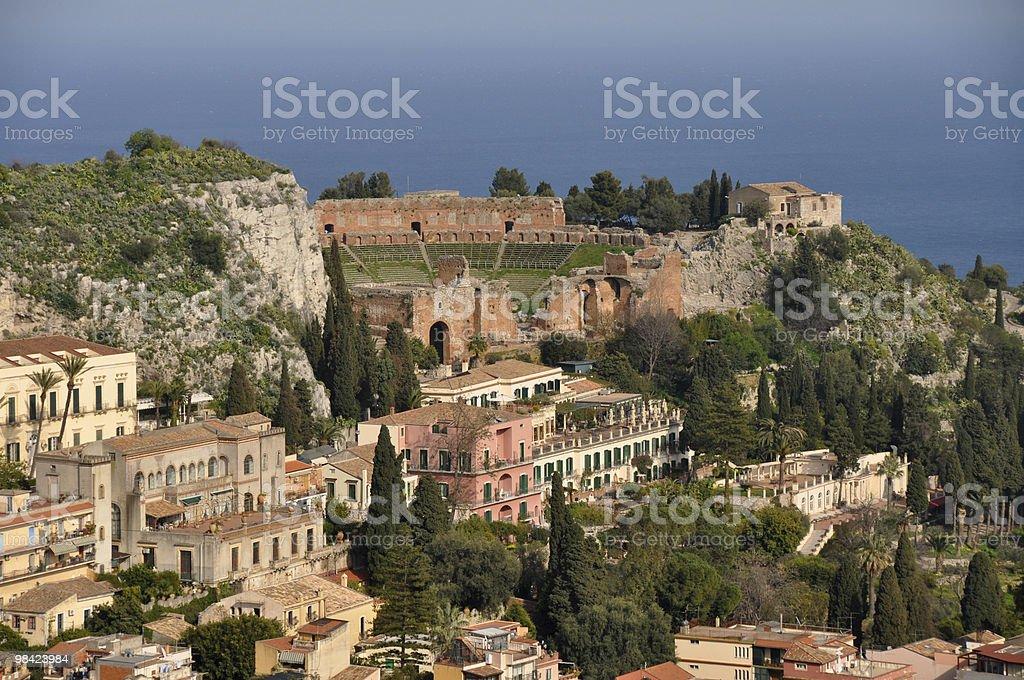 Taormina - Sicily royalty-free stock photo