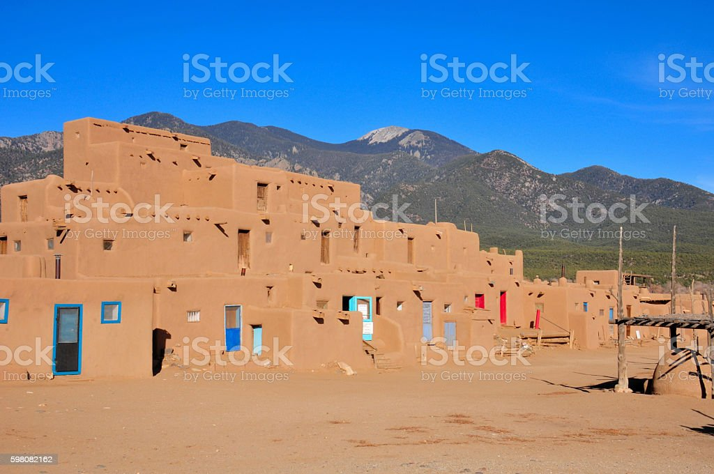 Taos New Mexico stock photo