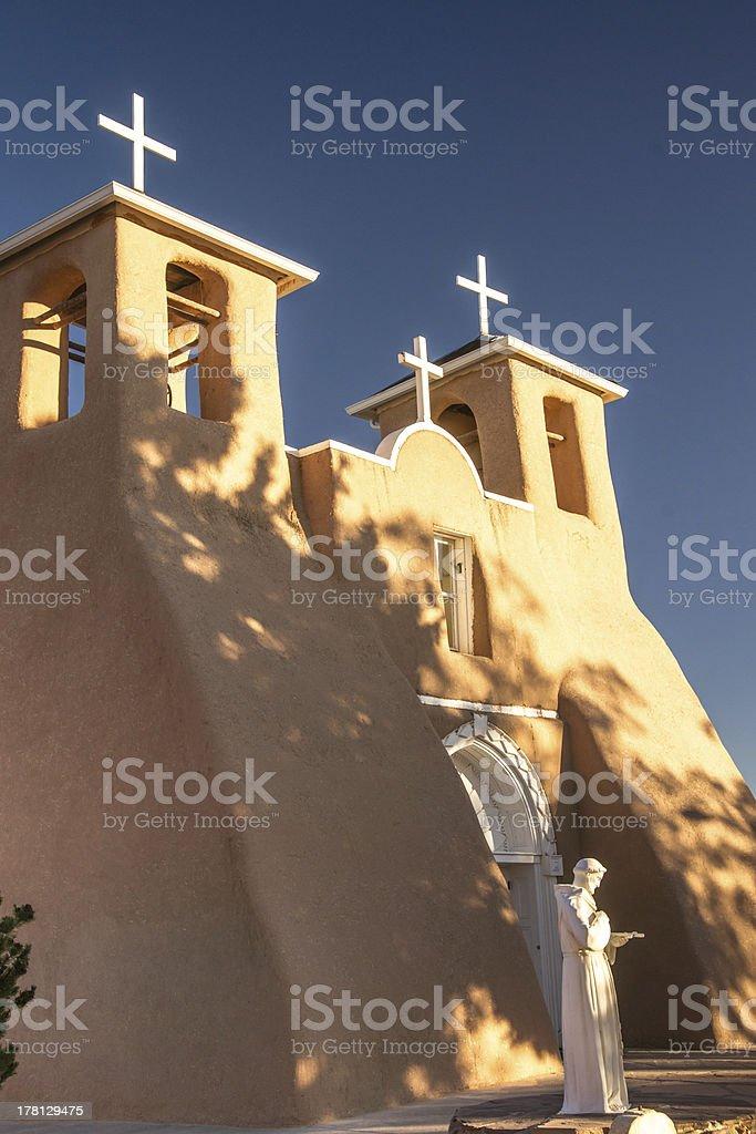 Taos Sunrise royalty-free stock photo