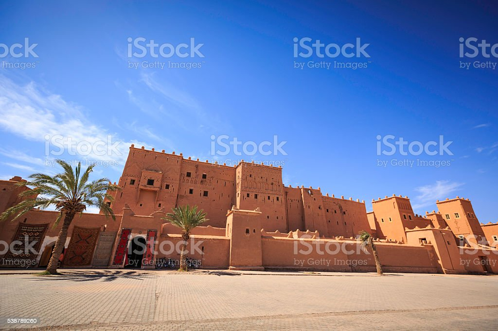 Taourirt Kasbah stock photo