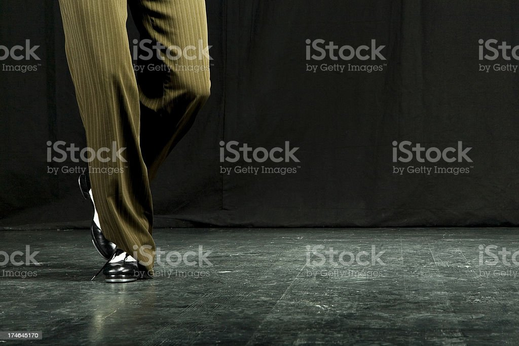 Tap dance royalty-free stock photo