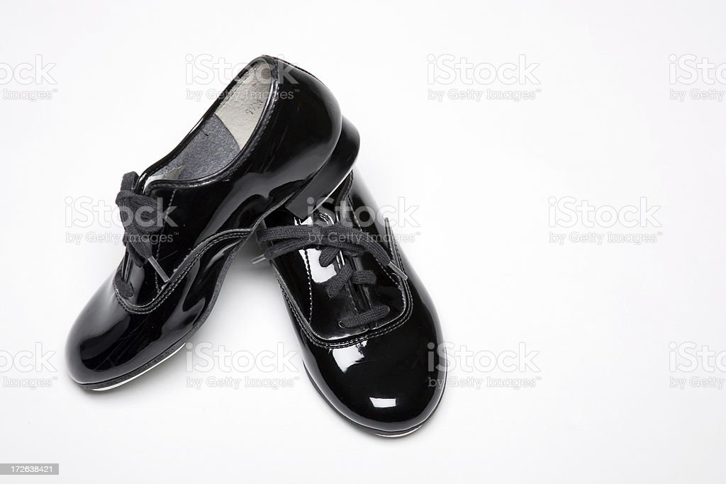 Tap Shoes 0006 royalty-free stock photo