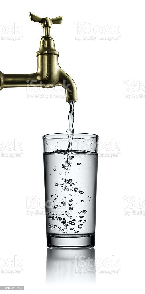 tap water royalty-free stock photo