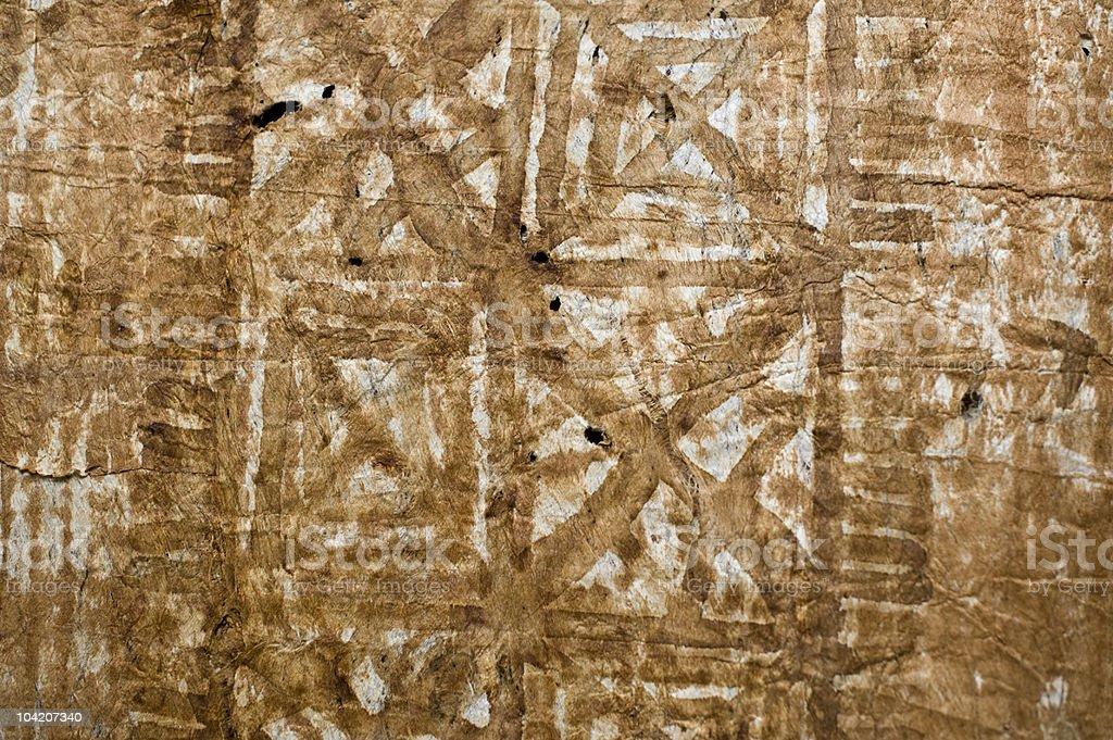 Tapa cloth background (XLarge) stock photo