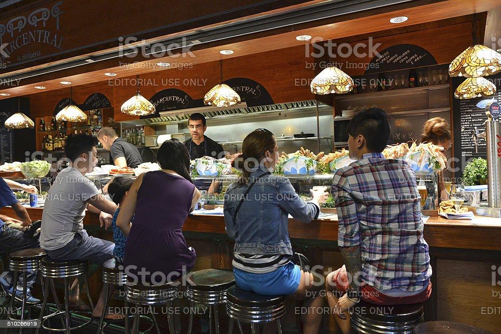 Tapas Bar stock photo