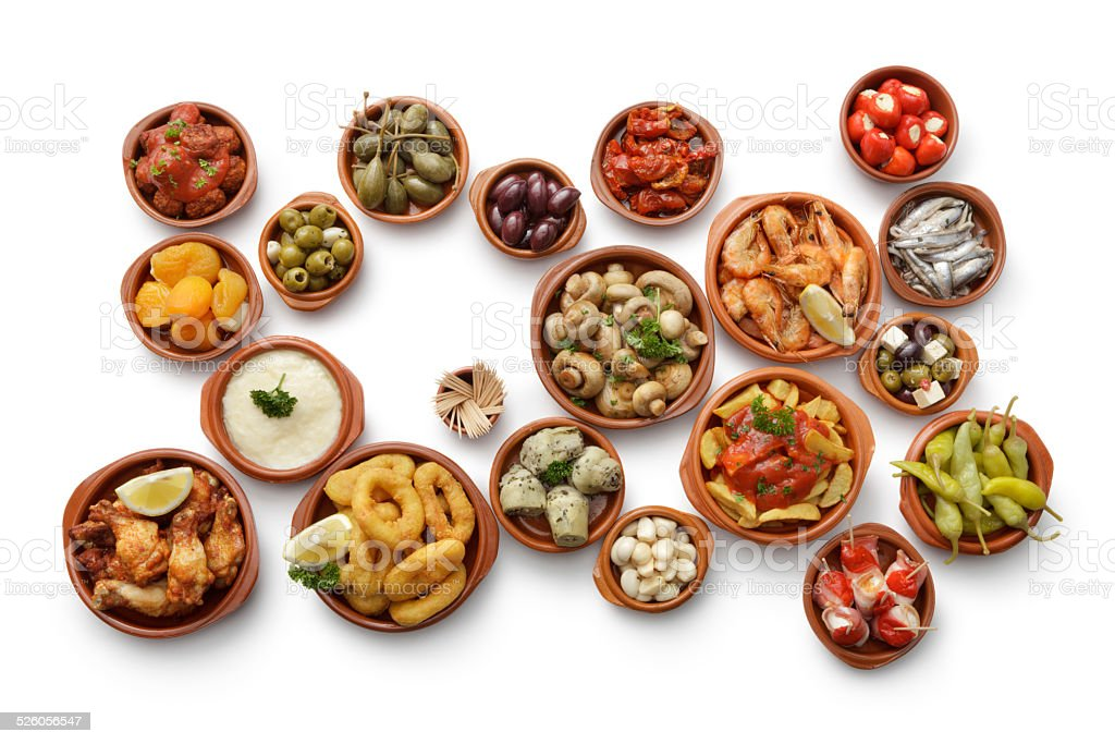Tapas: Collection stock photo