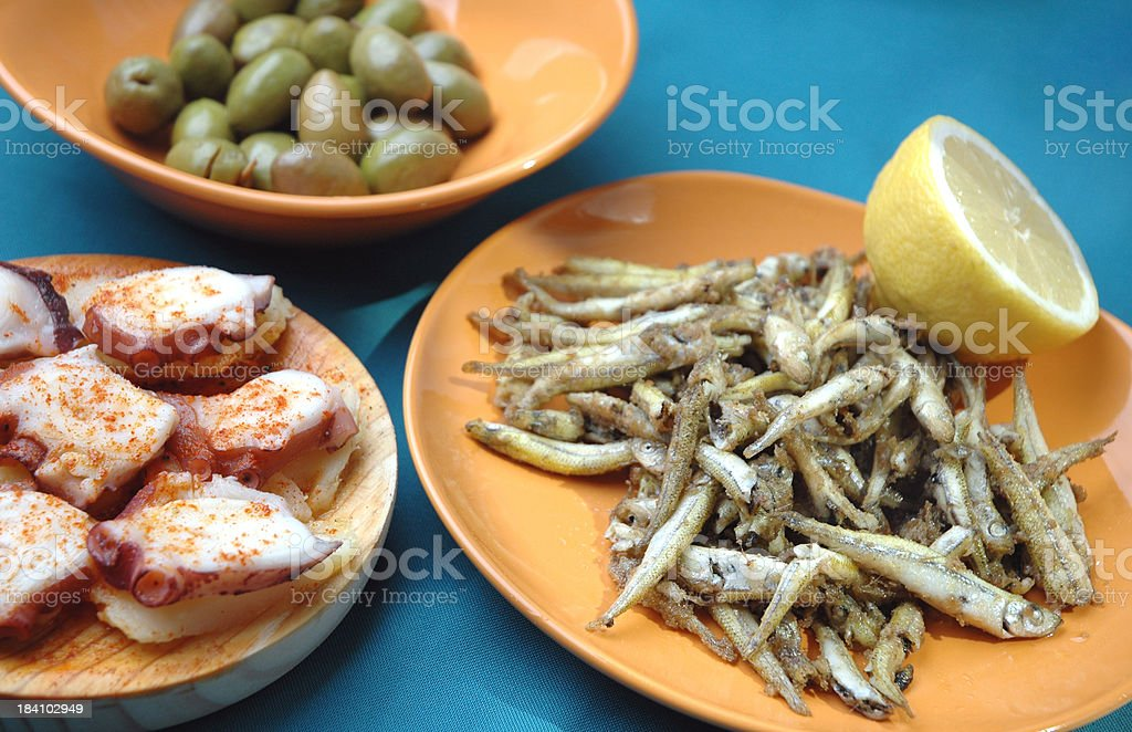 Tapas royalty-free stock photo