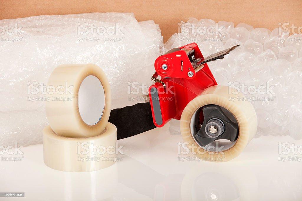 Tape Dispenser stock photo