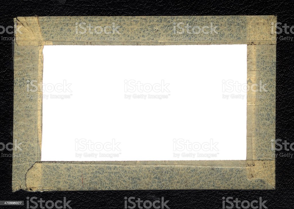 Tape Frame royalty-free stock photo