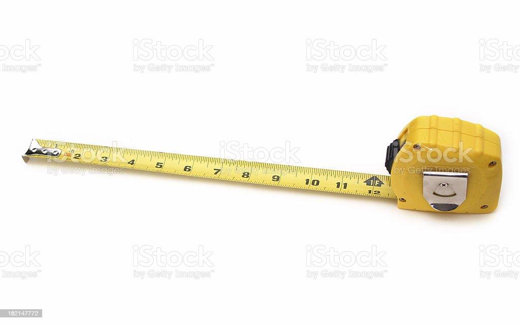tape measure 2 royalty-free stock photo