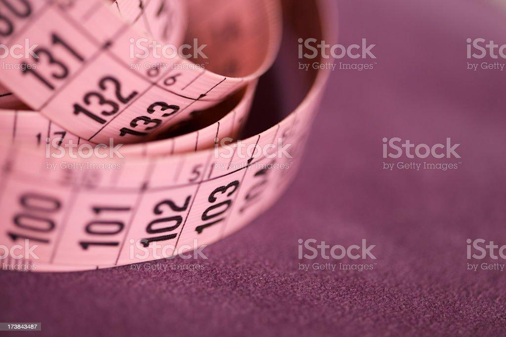 Tape measure stock photo